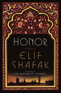 Book cover of Honor, a novel by Elif Shafak