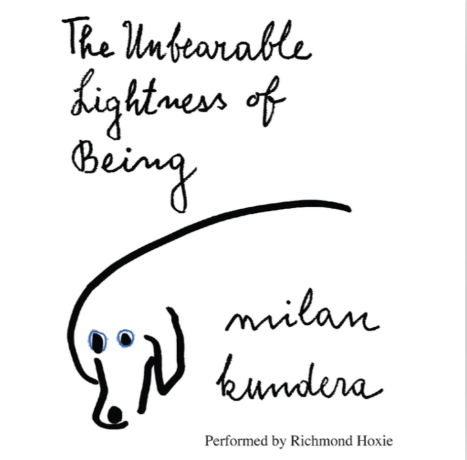 Book cover of The Unbearable Lightness of Being by Milan Kundera
