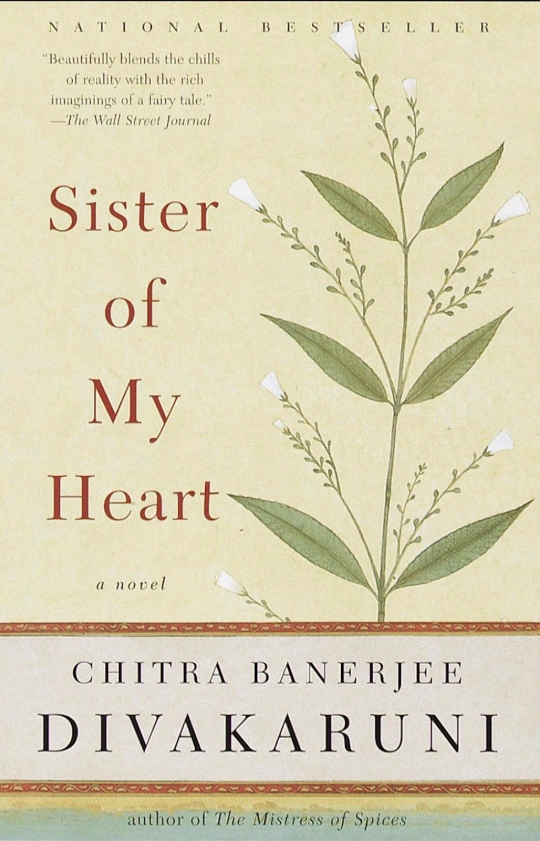 sister of my heart book cover