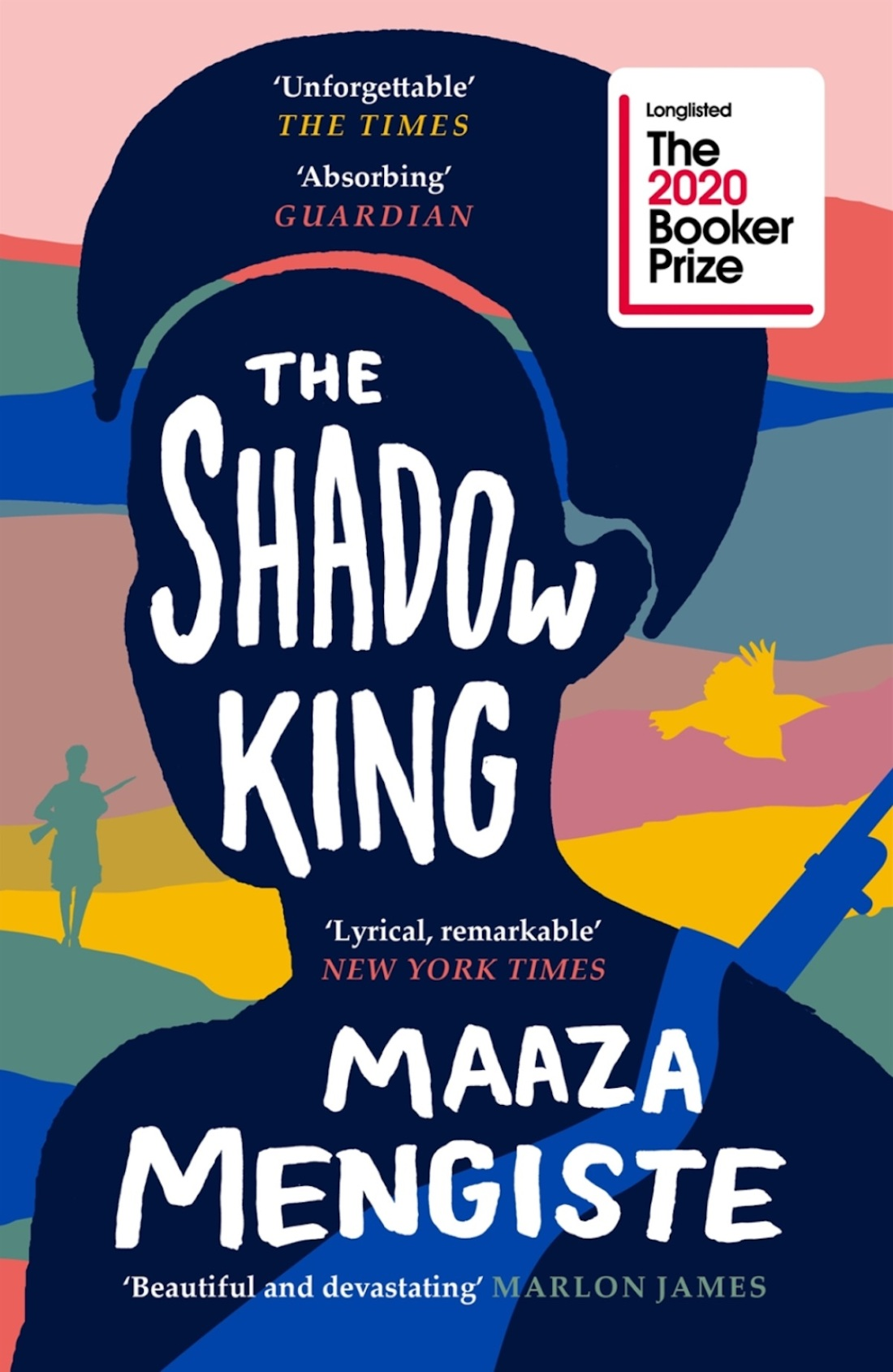the shadow king book cover by Maaza Mengiste