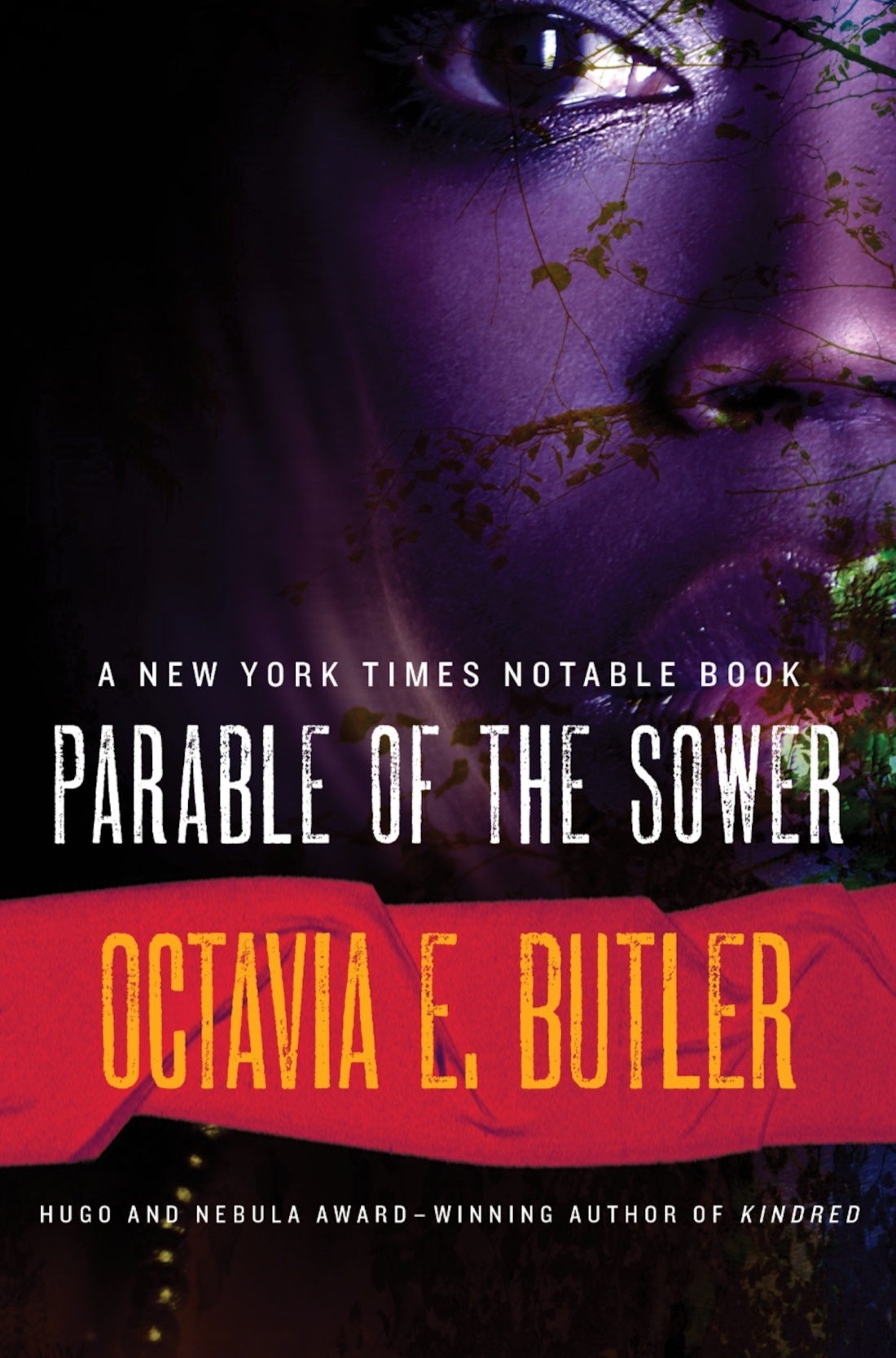 parable of the sower by Octavia Butler book cover