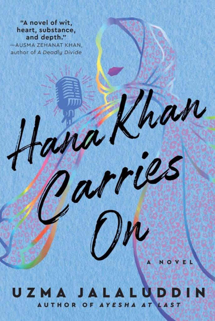 book cover of Hana Khan Carries on by Uzma Jalaluddin