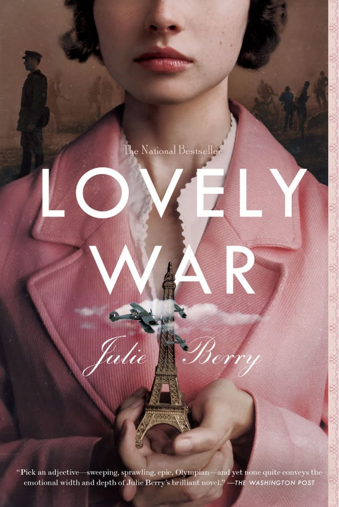 book cover of Lovely War by Julie Berry